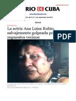 Boletín de Diario de Cuba   Del 5 al 11 de septiembre de 2013