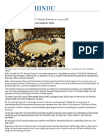 UN Security Council serves no one's purpose_ India - The Hindu