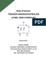 Buku Panduan Trainer Mikrontroler MCS-51
