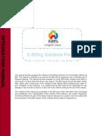EBS Integration Manual 2.5