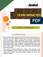 teori moneter