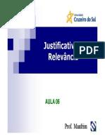 Aula_06_-_Justificativa_e_Relevância_-_Apres