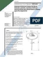 NBR 11356 - 1989 - Isolantes Térmicos a Base de Fibras Minerais