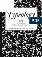 Typeology Issue One