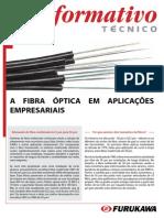 Sistema de instalação de fibras optica