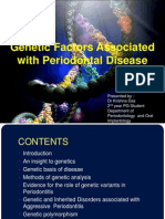 genetic factors associated with periodontal diseases