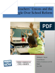 Natl Teachers Unions and the Struggle Over School Reform
