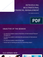 Introducing Multinational Financial Management