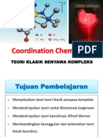 Teori Klasik Senyawa Koordinasi