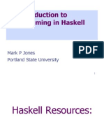 Intro Haskell