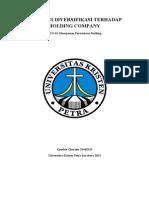 STRATEGI DIVERSIFIKASI TERHADAP HOLDING COMPANY Cynthia 31410119.doc