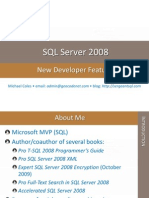 SQL New Features