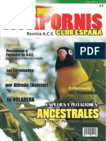 Nº1 REVISTA ACE AGAPORNIS CLUB