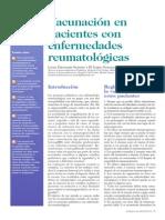 Vacunación en pacientes con enfermedades reumatológicas