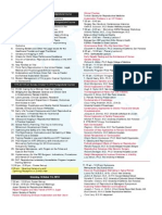 Resumen Programa ASRM 2013