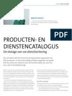 Producten- En Dienstencatalogus | De Etalage Van Uw Dienstverlening