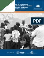 Defensoria_DSR Mujeres Victimas de Desplazamiento