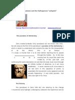 The Zeno's Paradoxes and the Pythagorean Zeitgeist , (by G Mpantes)