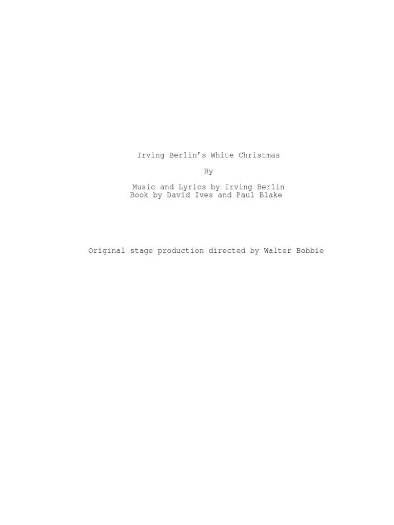 Irving Berlins White Christmas | Christmas Music | Christmas