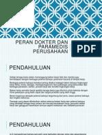 Dokter Serta Paramedis Perusahaan