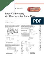 Lube Oil Blending Overview