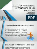 EVALUACIÓN FINANCIERA Y ECONÓMICA DE UN PROYECTO