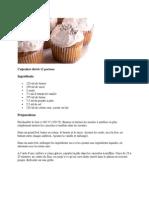 Cupcakes dorés 12 portions