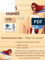 Mujeres Lideres Paraguay 2013