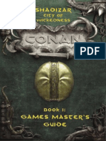 MGP7708 - Conan d20 - Shadizar - City of Wickedness Boxed Set