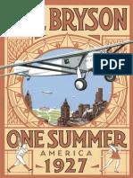 Bill Bryson One Summer