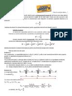 Fizica X teorie si rezolvari de probleme