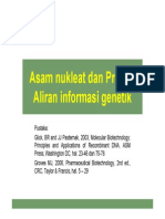 Asam Nukleat, Protein, Aliran Info Genetik 2010