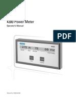 Power Meter 4300 Manual