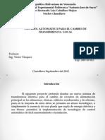 SISTEMA DE TRANSFERENCIA DE ENERGÍA ELÉCTRICA