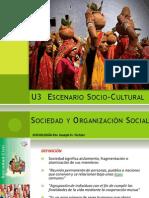 3.1 Sociedad y organización social