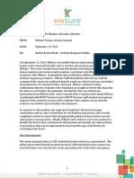 MNsure.com's report on recent Obamacare HIX Health Exchange ACA 2013 data breach.