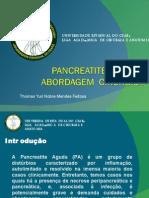 Seminario Pancreatite Aguda Liga de Cirurgia Universidade Estadual Do Ceara