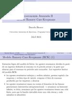 MACROECONOMÍA- MODELO DE RAMSEY
