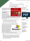 20 Cosas Que Desconocias Sobre Windows XP
