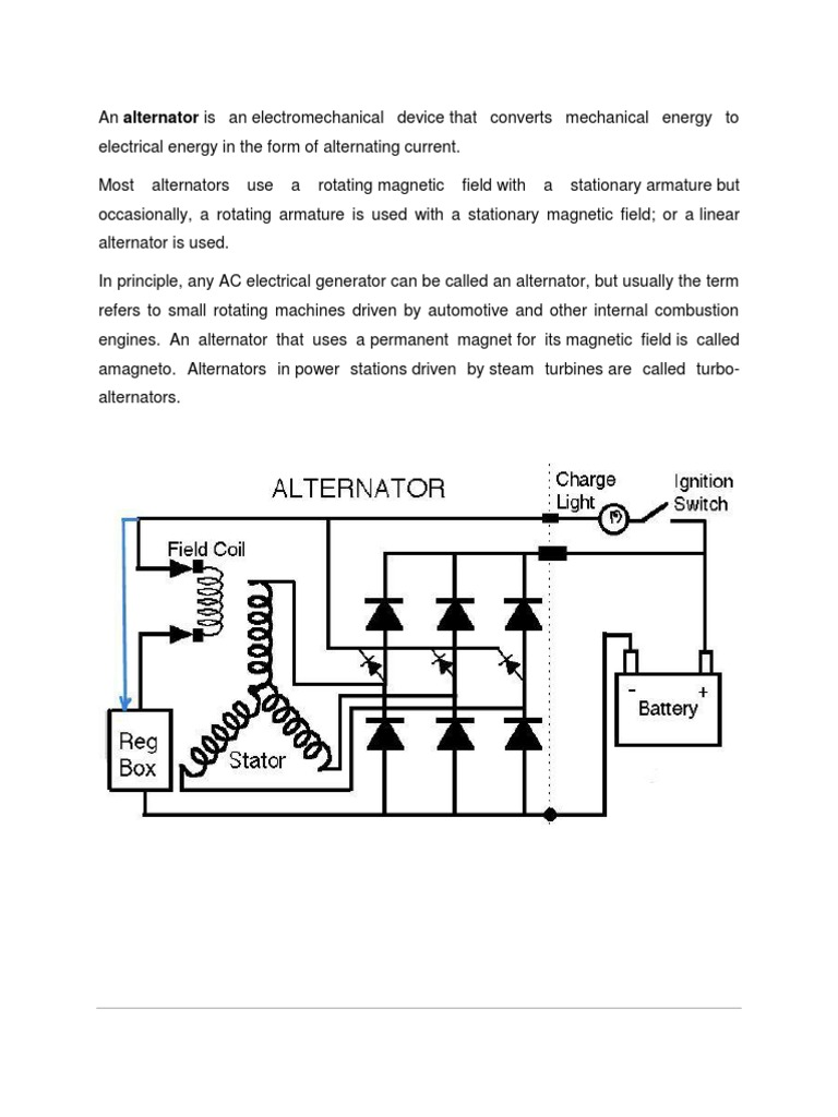 Altena Tor Components Magnetic Devices Generator Diagram