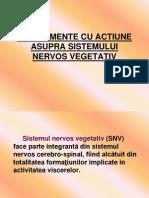 Medicamente Cu Actiune Asupra Sistemului Nervos Vegetativ