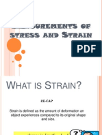 Measurements of Stress and Strain