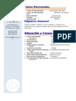 Curriculum Vitae Mod !