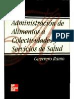 Administracion de Alimentos a Colectividades y Servicios de Salud 2001 - Ramo