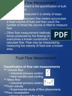 Measurement of Flow 14