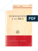 Introduccion a La Biblia Robert Feuillet