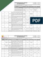 CP-06 CARACTERIZACIÓN DEL PROCESO DE CONSTRUCCION