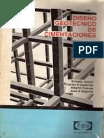 DISEÑO GEOTECNICO DE CIMENTACIONES (TGC)
