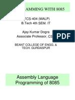 8085 Micorprocessor