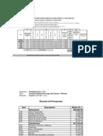 Presupuesto de Obra JUNIO